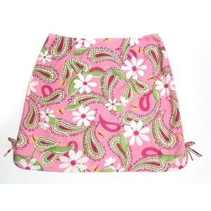 Lilly Pulitzer Paisley Floral Skirt